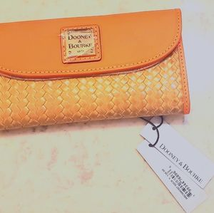Dooney & Bourke Wallet - Orange